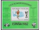 Togo 1981 Espana `82 Stadion Atletiko Madrida, čisto **
