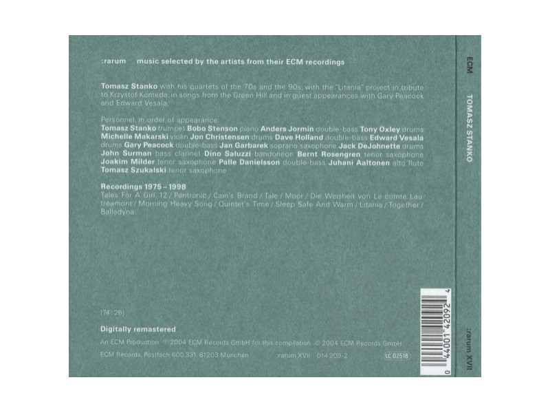 Tomasz Stańko - Selected Recordings