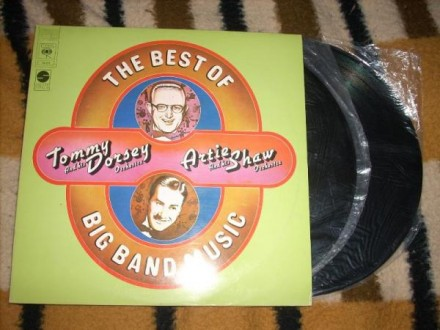 Tommy Dorsey,Artie Shaw-The Best Of Big Band Music 2LP