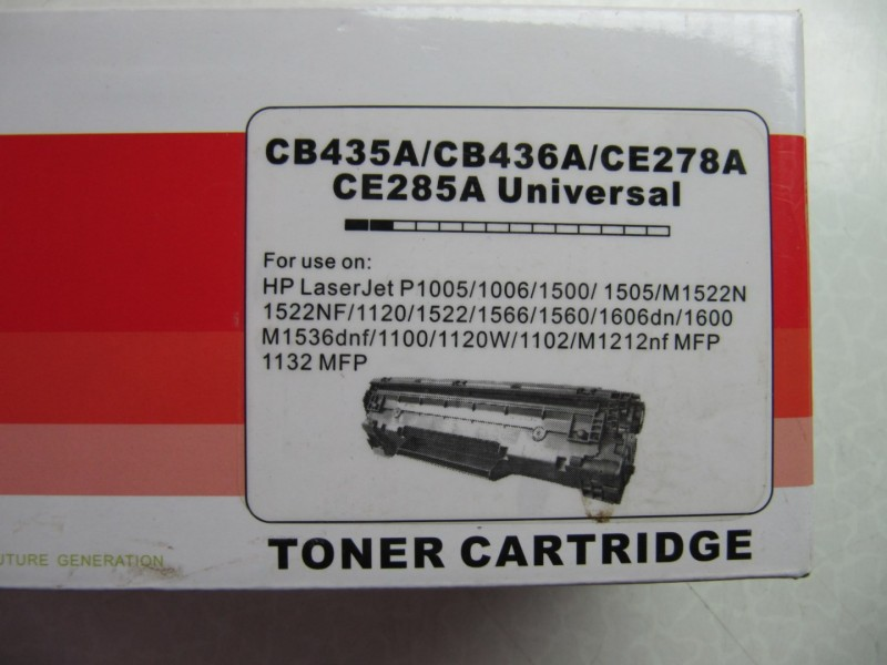 Toner Cartridge CE285A Universal