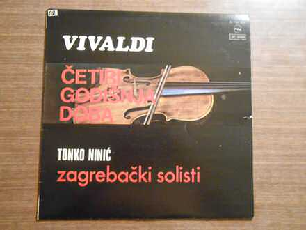 Tonko Ninić, Zagrebački Solisti, Antonio Vivaldi - Četiri Godišnja Doba