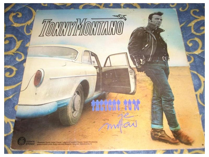 Tonny Montano-Talični Tom Je Mrtav LP