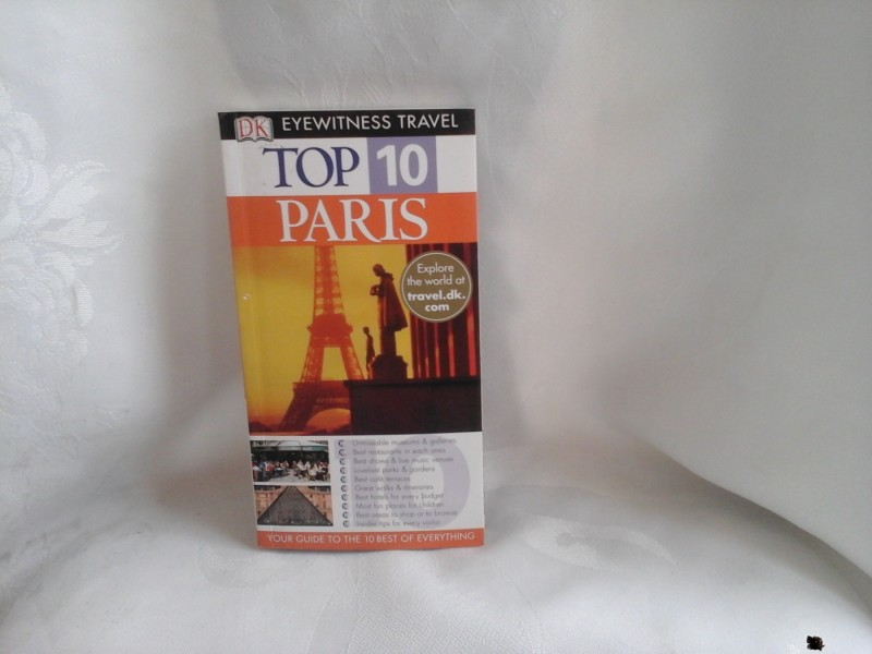 Top 10 Paris eyewitness travel Pariz turistički vodič