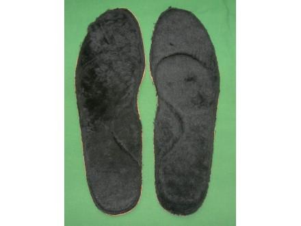 Topli krzneni ulošci, br. 46, 30,5 cm, muški, novo