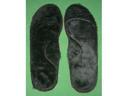 Topli krzneni ulošci za obuću br. 37, unisex, novo