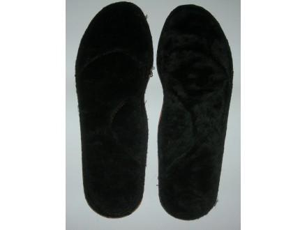 Topli krzneni ulošci za obuću br. 38, unisex, novo