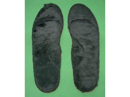 Topli krzneni ulošci za obuću br. 40, unisex, novo