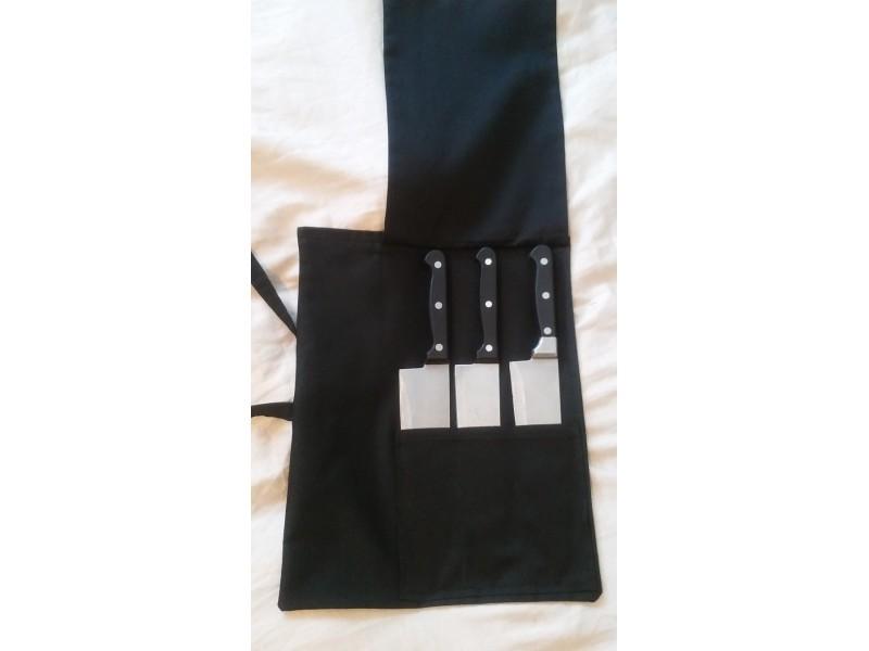 Torba za nozeve, torba za kuvare i mesare, crna