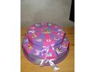 Torta od kartona na sprat-princeze