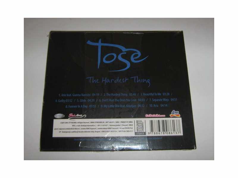 Toše Proeski - The Hardest Thing