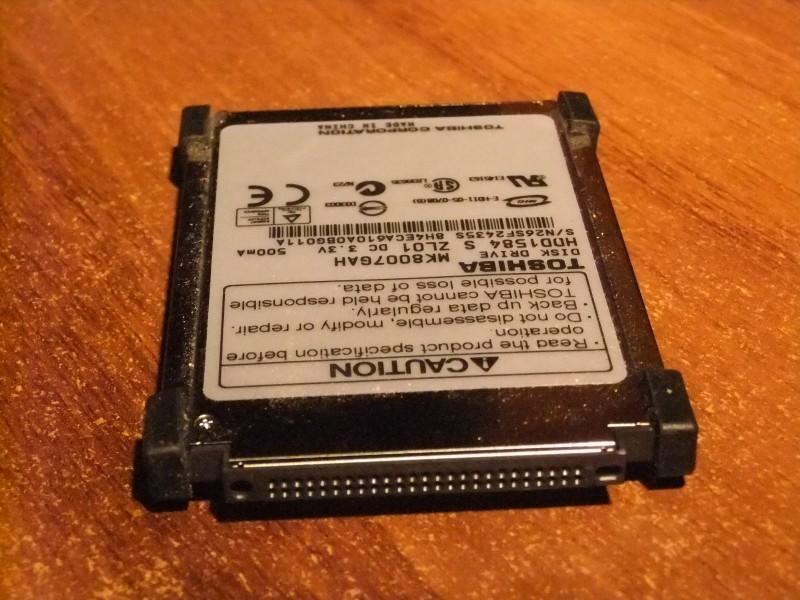 Toshiba 1.8 inca hard od 80GB za laptop + GARANCIJA!