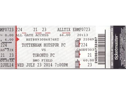 Tottenham - Toronto   3:2   , 2014.god.