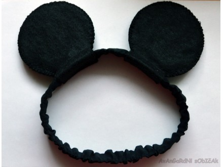 Traka za kosu Minnie Mouse/Mickey Mouse