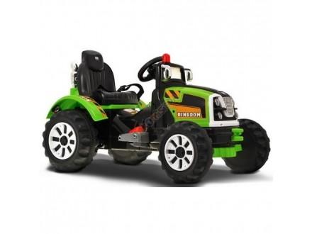Traktor na baterije Model 223 zeleni