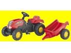 Traktor na pedale sa prikolicom ROLLY TOYS RollyKID 012