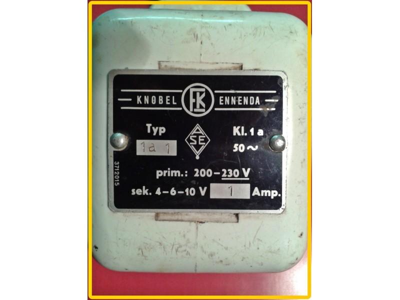 Transformator 220/4-6-10V 1A