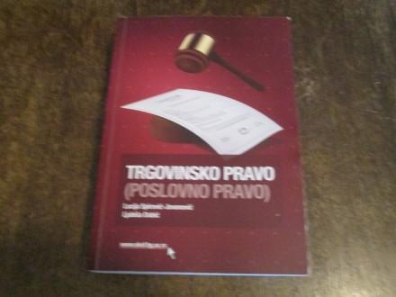 Trgovinsko (poslovno) pravo - Dabić, Spirović-Jovanović