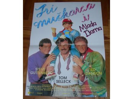 Tri muškarca i Mlada Dama - filmski plakat