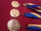 Tri svedske kosarkaske medalje