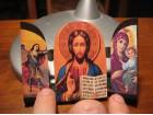 Triptih - Hristos, Bogorodica i Sv.Mihailo