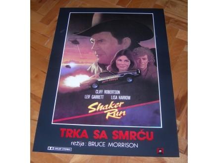 Trka sa smrću, filmski plakat
