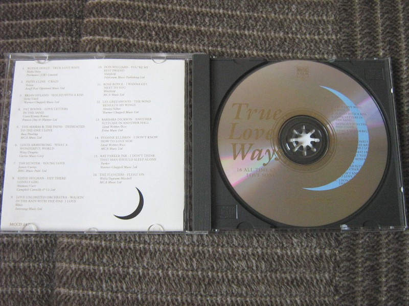 True Love Ways (Various  Artists)