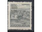 Turistički motivi-5/8 din Dubrovnik 1986.,greška,čisto