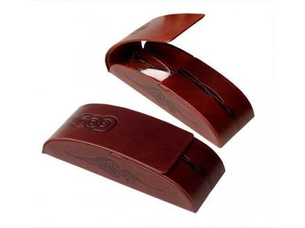 Tvrda kožna futrola za naočare, artikal 622