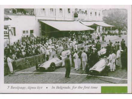 U BEOGRADU PRVI PUT / prvi Gran-pri - Kalemegdan 1939.