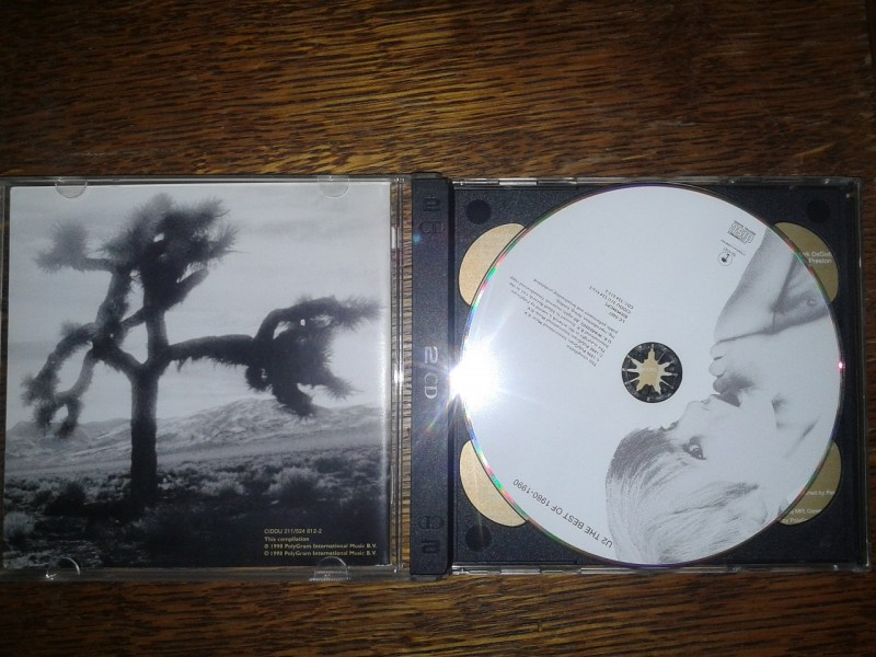 U2 - The Best Of 1980-1990 & B-Sides (Special Edition Double CD)