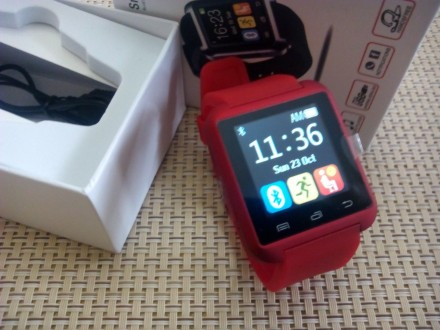 U80 Pametni Sat Bluetooth - crveni