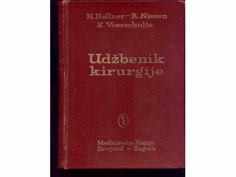 UDZBENIK HIRURGIJE - HELNER-NILSEN