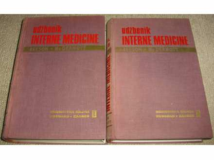 UDŽBENIK INTERNE MEDICINE 1-2 - Cecil - Loeb