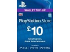 UK PLAYSTATION STORE WALLET TOP-UP 10 GBP PS3/PS4