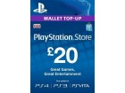 UK PLAYSTATION STORE WALLET TOP-UP 20 GBP PS3/PS4
