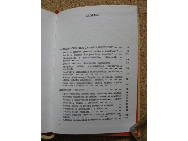 UMETNOST I MARKSIZAM, Milan Ranković