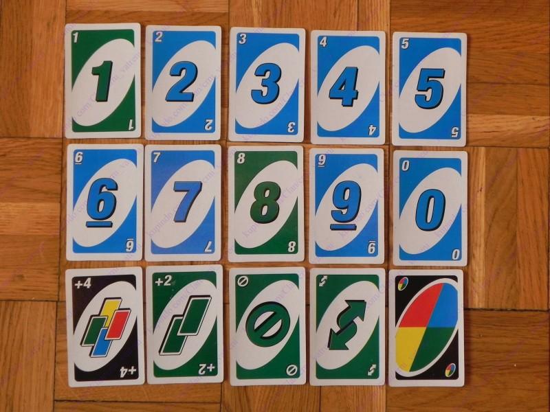 Uno Karten Anzahl