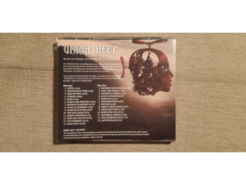 URIAH HEEP - Totally Driven ( 2 cd)