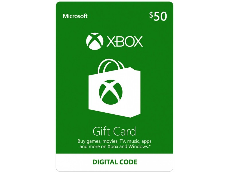 US XBOX LIVE DOPUNA 50 USD ONE/360