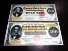 USA LOT 1922 Dolara (Gold C) REPLIKA UNC