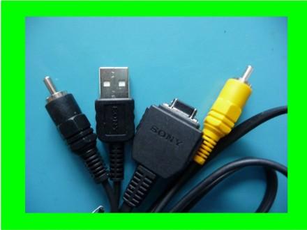 USB A i Video kabli za Soni digit. aparate DSC W serije