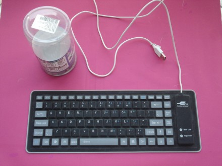 USB Flexible gumena US tastatura