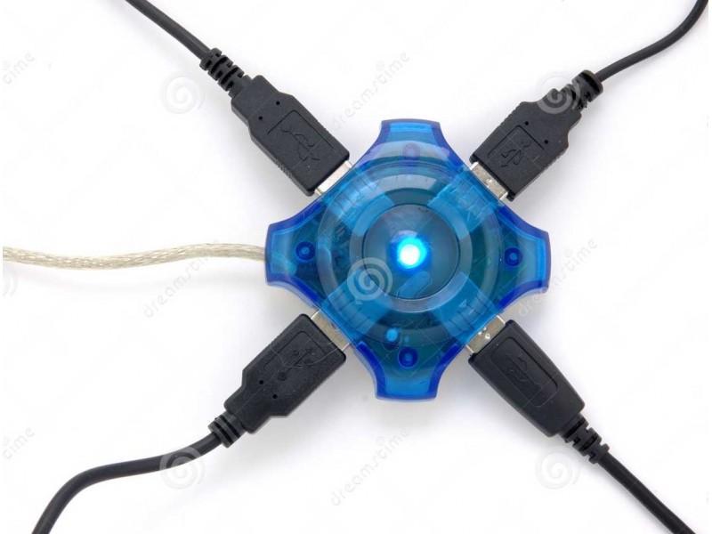 USB HUB - 2.0 USB - 4 porta - HIT CENA!
