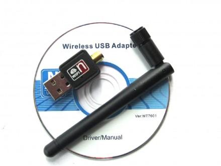 USB WIFI kartica sa Antenom 150Mbps 802.11n/g/b