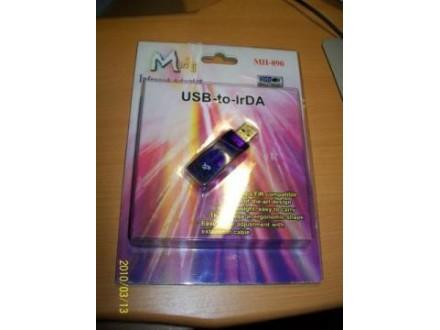 USB infra red svetli plavo :)