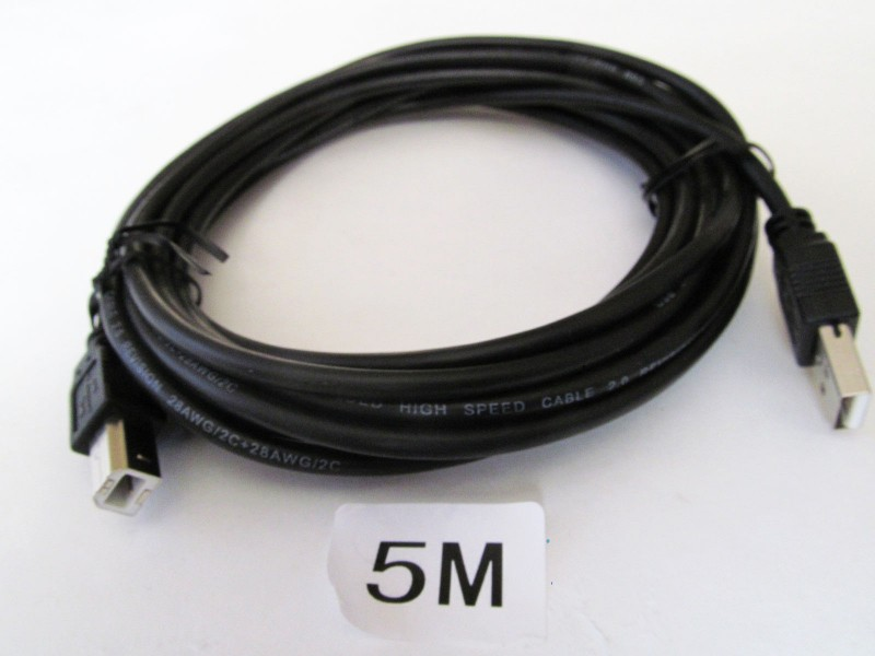 USB tip A na tip B za štampač