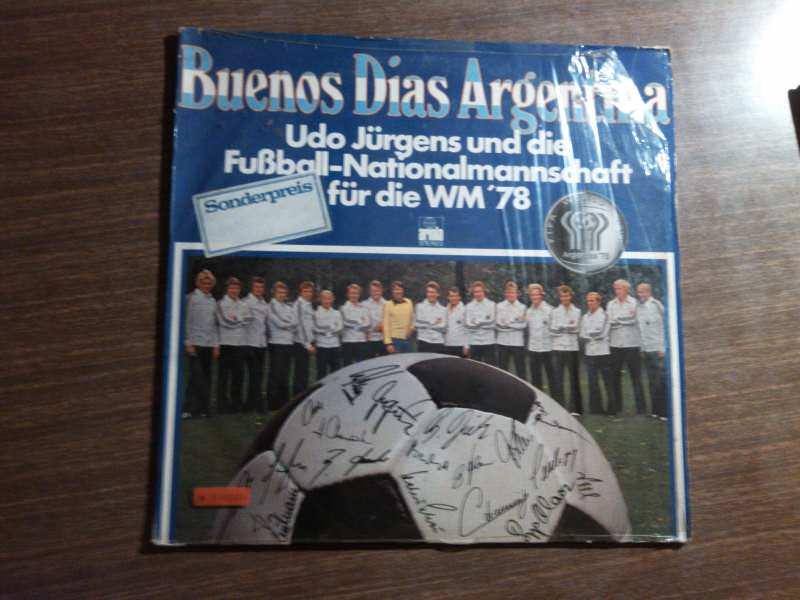 Udo Jürgens, Die Fußball-Nationalmannschaft - Buenos Dias Argentina