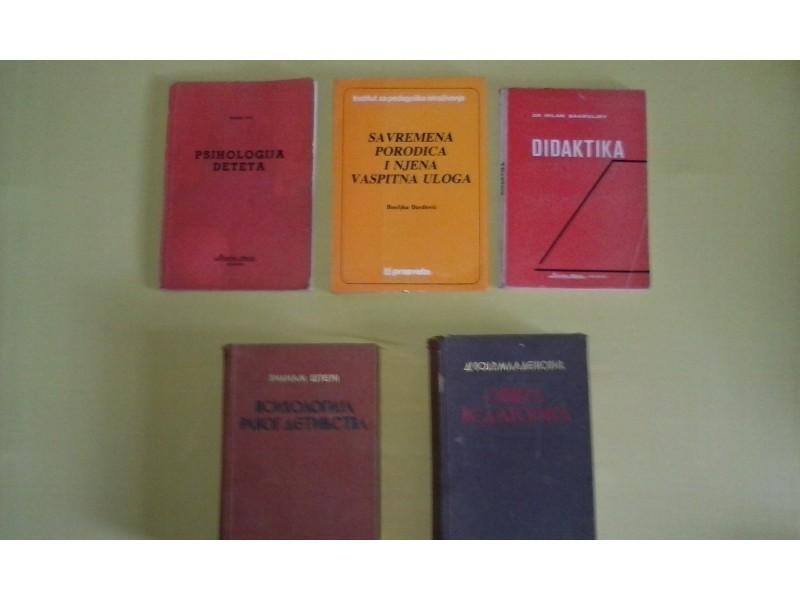 Udzbenici/fakultet-PSIHOLOGIJA,PRAVNI, FPN, PEDAGOSKI