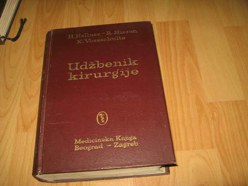 Udzbenik kirurgije - Hellner/Nissen/Vossschulte