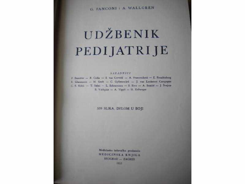 Udzbenik pedijatrije - Fanconi